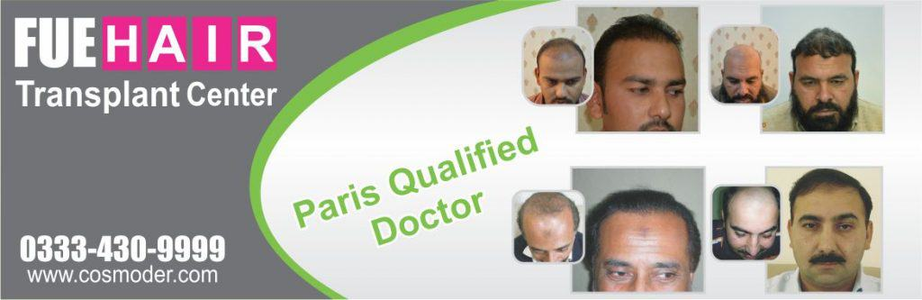 Hair transplant in Lahore