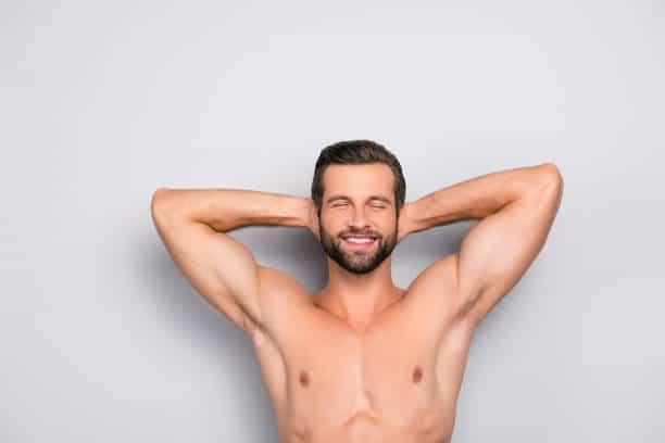 Men laser hair removal result Lahore
